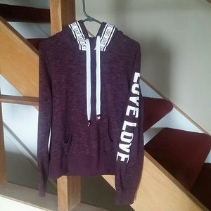 Love Sweatshirt by Reflex Size XL